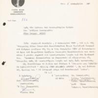 Ευχαριστήρια επιστολή της Εταιρίας Φίλων Παναγιώτη Κανελλόπουλου